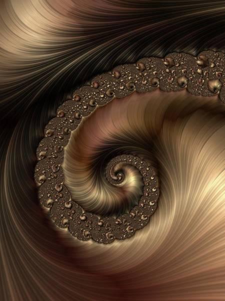 Wall Art - Digital Art - Smooth Swirl by Amanda Moore