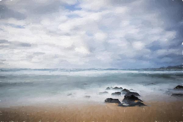 Digital Art - Smoothing Out Kauai II by Jon Glaser