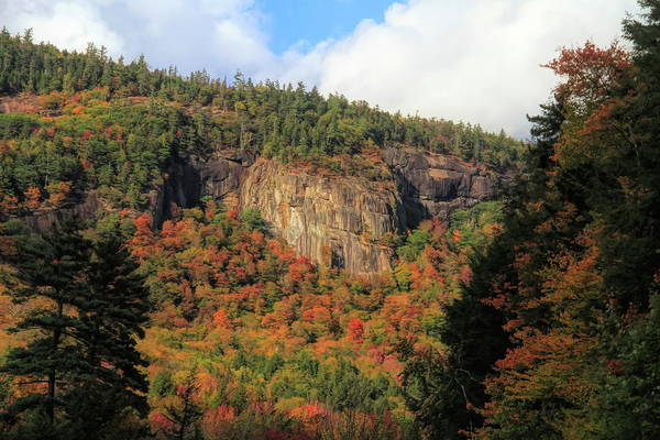 Photograph - Smugglers Notch Autumn Season by Dan Sproul