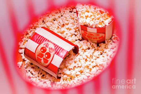 Film Industry Wall Art - Photograph - Snack Bar Pop Corn by Jorgo Photography - Wall Art Gallery