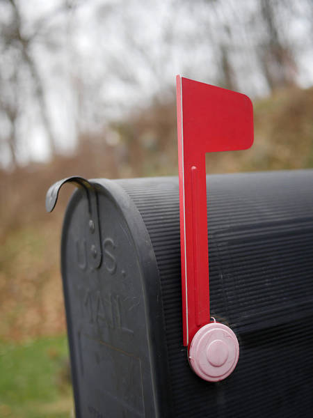 Photograph - Snail Mail - Outbox by Richard Reeve