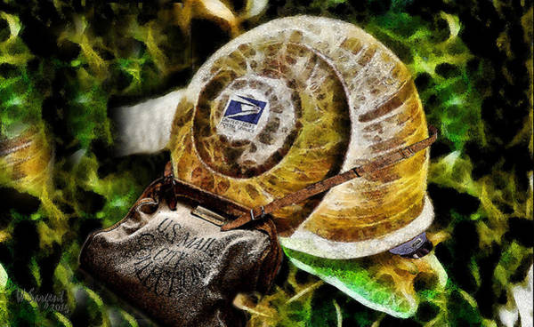 Digital Art - Snail Mail by William Sargent