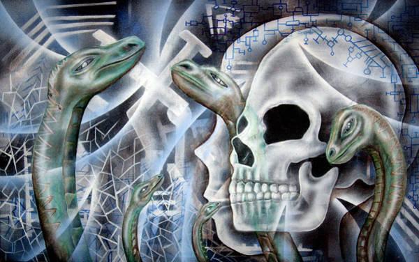 Snake Creation Art Print