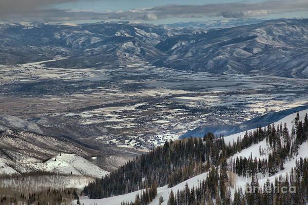 Photograph - Snake Creek Passvalley Views by Adam Jewell