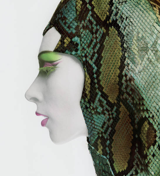 Photograph - Snake Eyes by Bert Stern