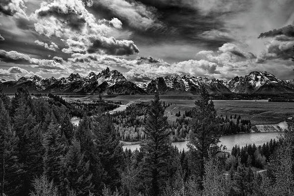 Photograph - Snake River And Tetons by Michael Ash