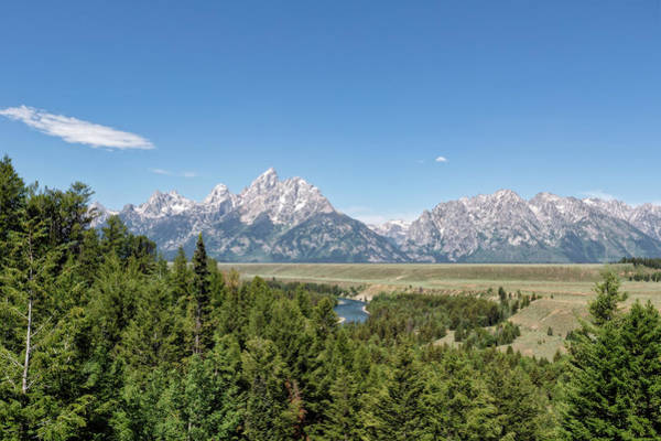 Wall Art - Photograph - Snake River And The Tetons by Kay Brewer