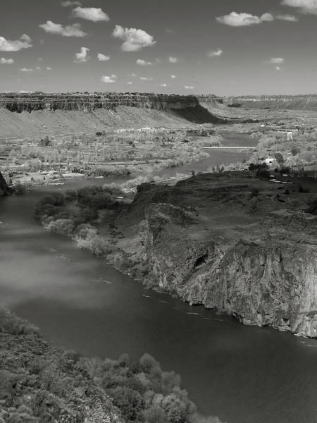 Photograph - Snake River At Twin Falls by Mark Mille