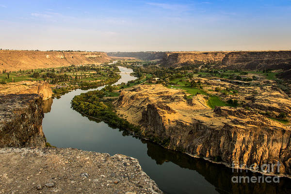 Photograph - Snake River Canyon Idaho Landscapes By Kaylyn Franks by Omaste Witkowski