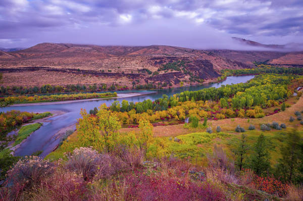 Wall Art - Photograph - Snake River Fall Beauty  by Scott McGuire