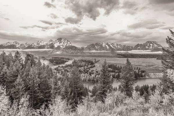 Wall Art - Photograph - Snake River Overlook Grand Teton by Scott McGuire
