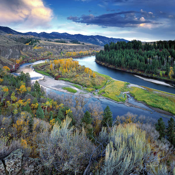 Wall Art - Photograph - Snake River Ridge 2 by Leland D Howard
