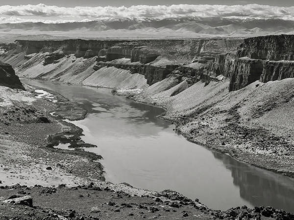Photograph - Snake River Valley At Swan Falls by Mark Mille