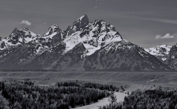 Photograph - Snake River View Of Grand Teton Mountains by Dan Sproul