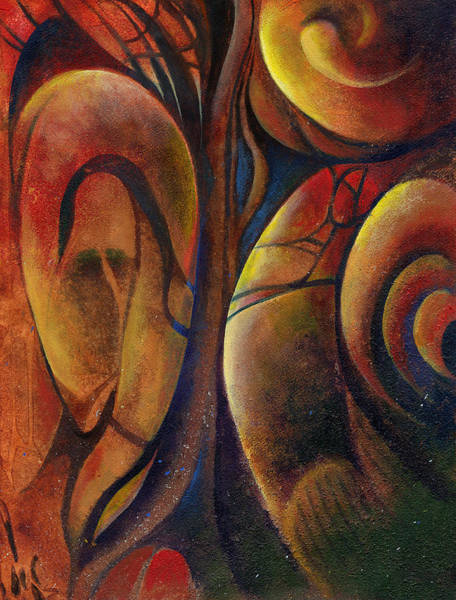 Painting - Snakes And Snails by Andrew King