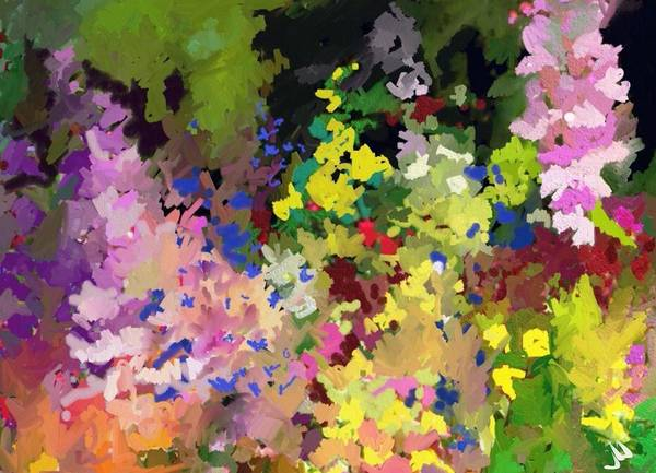 Snapdragons Painting - Snaps by Jennifer Buerkle