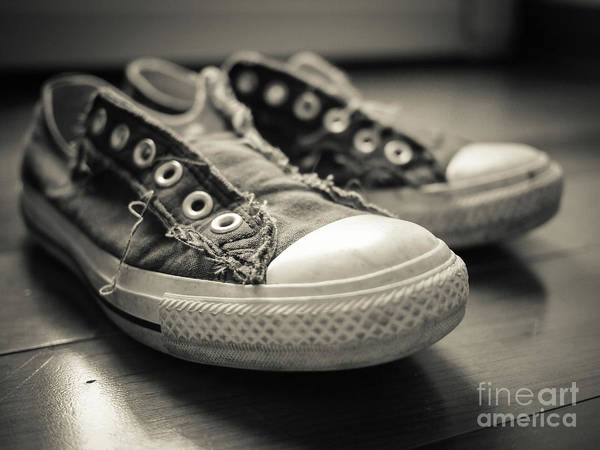 Photograph - Sneakers by Edward Fielding