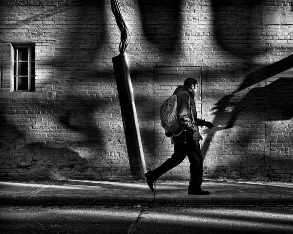 Photograph - Sneakin' Thru The Alley by Brian Carson