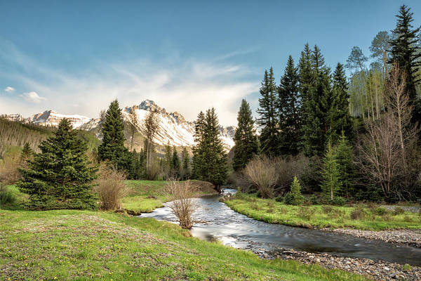 Photograph - Sneffels And Spring Stream by Denise Bush
