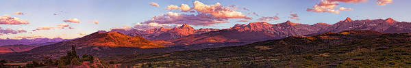 Photograph - Sneffel's Range Sunset by Rick Wicker