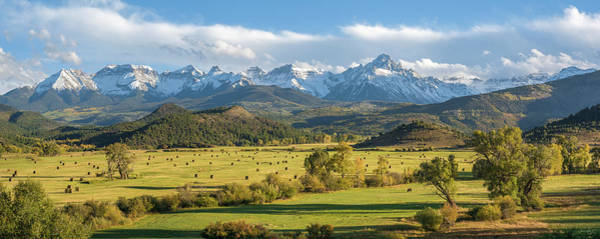 Photograph - Sneffels R L Ranch by Aaron Spong