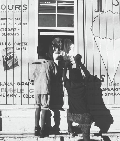 Wall Art - Photograph - Sno - Cone Stand, New Orleans by Library Of Congress