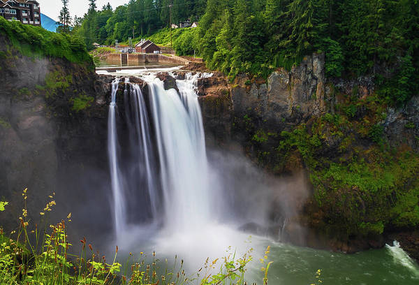 Photograph - Snoqualmie Falls by Dan Sproul