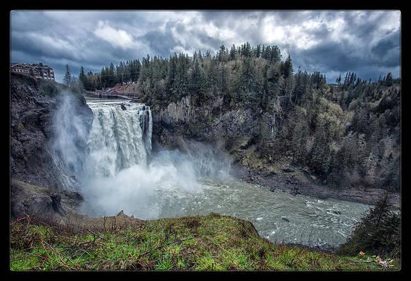 Wall Art - Photograph - Snoqualmie Falls by Robert Fawcett