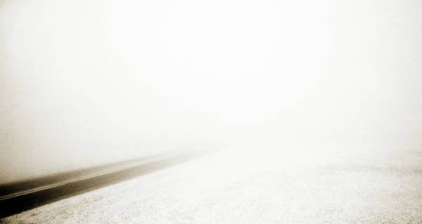 Photograph - Snow And Fog by Marilyn Hunt