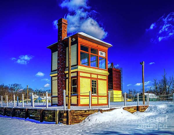 Photograph - Snow At Richland Station by Nick Zelinsky