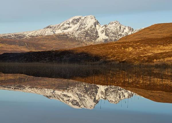 Photograph - Snow Capped Blaven by Stephen Taylor
