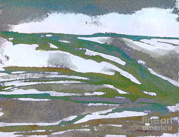 Utilitarian Painting - Snow Capped Dreams 2015 by Cathy Peterson