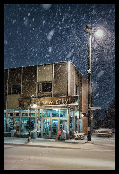Anchorage Photograph - Snow City by Robert Fawcett
