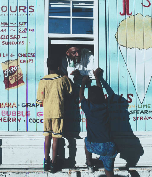 Wall Art - Photograph - Snow Cone Stand, New Orleans by Library Of Congress