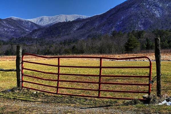 Photograph - Snow Covered Smoky Mountains by Carol Montoya