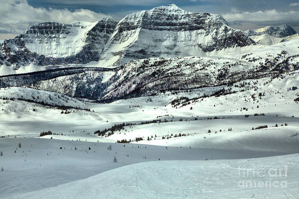 Photograph - Snow Drifts At The Base Of The Rockies by Adam Jewell