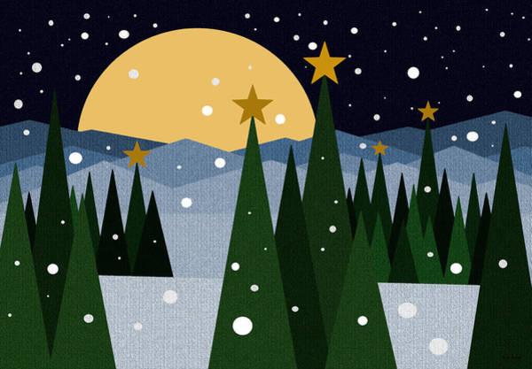 Digital Art - Snow Flurries by Val Arie