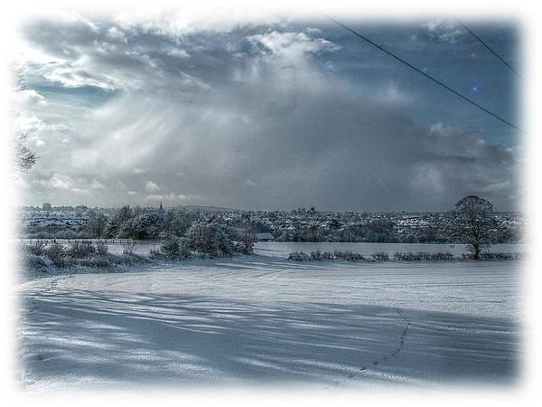 Land Mark Mixed Media - Snow Land by Mark Hunter