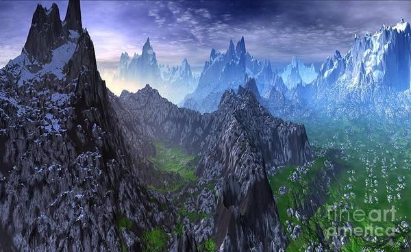 Wall Art - Mixed Media - Snow Leopard Mountain by Heinz G Mielke