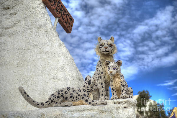 Tournament Of Roses Photograph - Snow Leopards Honda Float by David Zanzinger