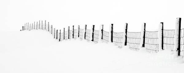 Wall Art - Photograph - Snow Line by Janet Burdon