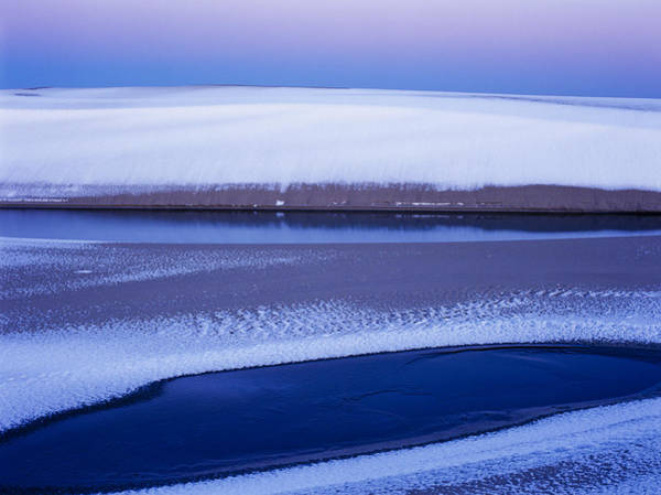 Photograph - Snow On The Dunes by Robert Potts