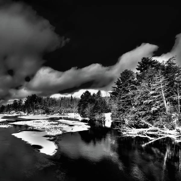 Photograph - Snow On The Moose River by David Patterson