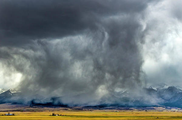 Westcliffe Photograph - Snow On The Rockies by Greg Reed
