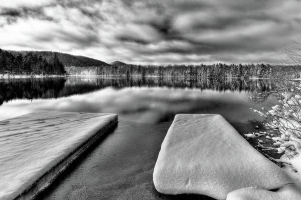 Photograph - Snow On West Lake by David Patterson