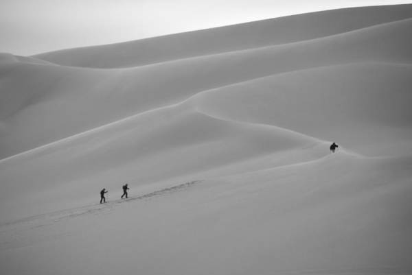 Photograph - Snow Or Sand by Ivan Slosar