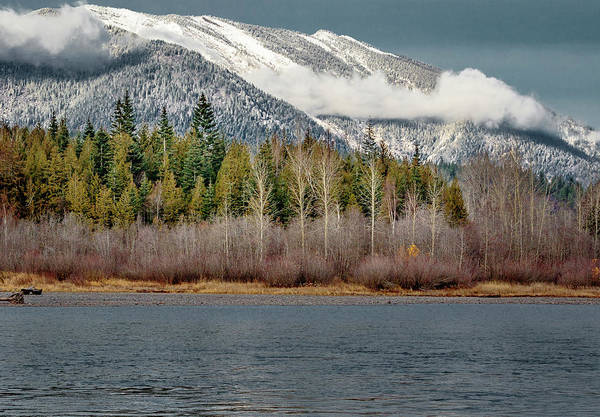 Photograph - Snow Over The Clark Fork by Albert Seger