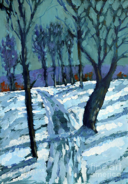 Boxing Painting - Snow by Paul Powis