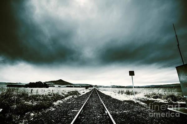 Wall Art - Photograph - Snow Railway by Jorgo Photography - Wall Art Gallery