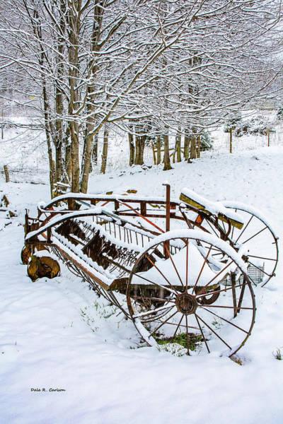 Photograph - Snow Rake by Dale R Carlson